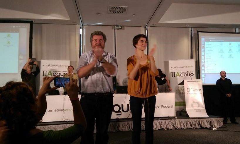 Juan López de Uralde y Rosa Martínez, elegidos coportavoces federales de EQUO